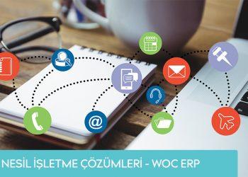 İşletmeler İçin Yeni Nesil Çözümler – WOC ERP